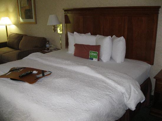 Baymont Inn and Suites Greenville-Haywood: King size bed