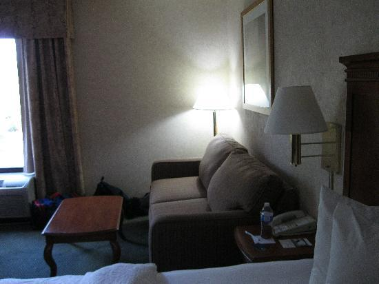 Baymont Inn and Suites Greenville-Haywood: Couch area