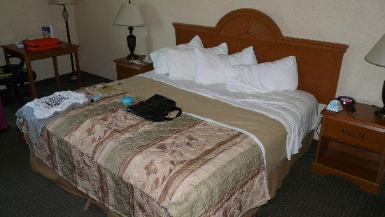 Best Western Of Long Beach : Kingsize bed