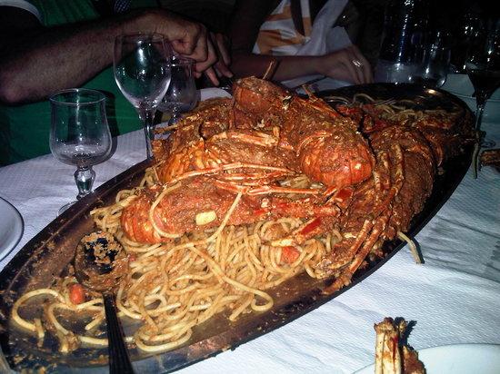 Le Bilboq Chez Jean-Jean : Spaghetti and lobster !