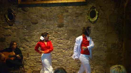 Palau Dalmases : El espectáculo de flamenco
