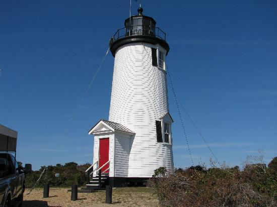 "Madison Inn: Cape Pogue Lighthouse Tour on ""Chappy"""