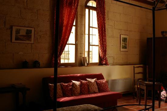 Montrichard, Francia: Part of our bedroom