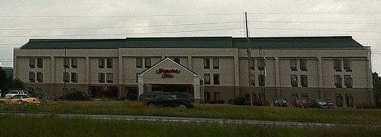 Carbondale, IL: Hampton inn front