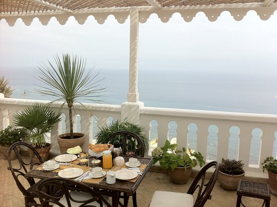 La Tangerina: Vistas desayuno...Lo mejor   Views of breakfast   Lovely views..
