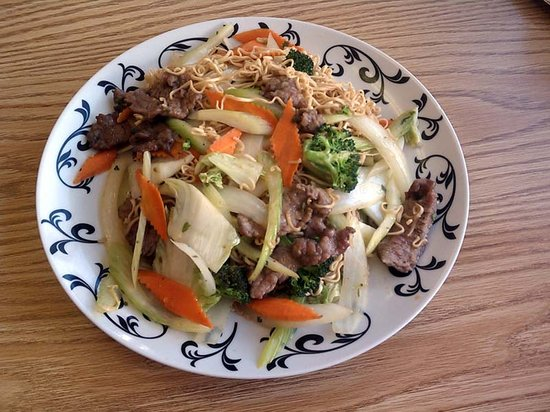Beef Lo Mein - Pho Saigon Casper