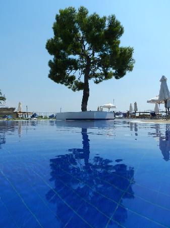 Kinetta, Grèce : Piscine Zen encore