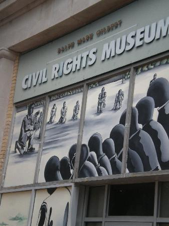 Ralph Mark Gilbert Civil Rights Museum Inc.: the exterior of the museum