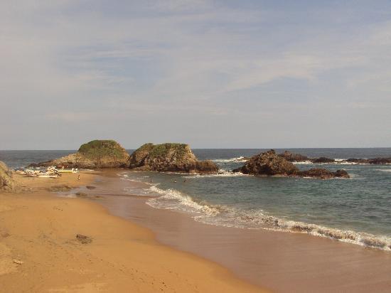 Casa Pan de Miel : vista de la playa