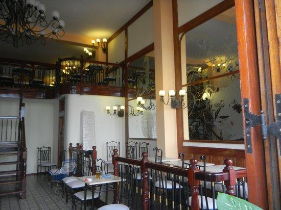 Amazon Bistro: first floor