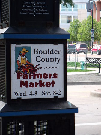Boulder County Farmers Market Photo