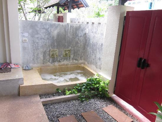 The Old Phuket: Private Jacuzzi