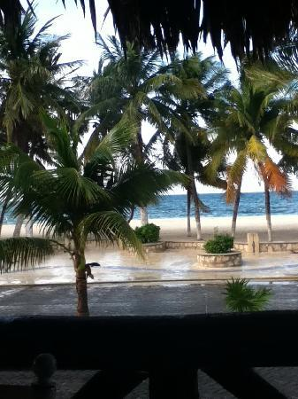 Hotel Posada Del Mar: View from breakfast