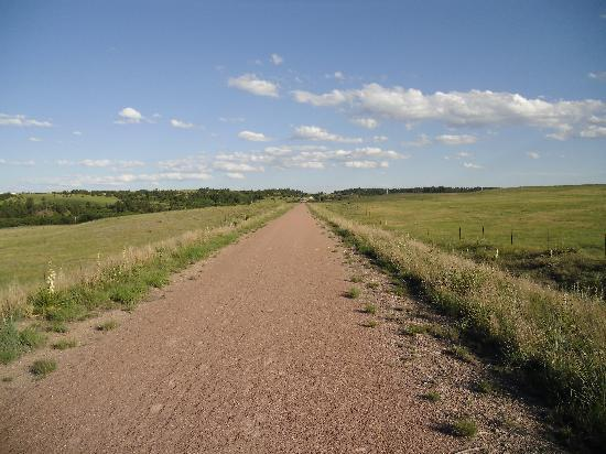 Cowboy Trail Near The Niobrara Bridge Picture Of