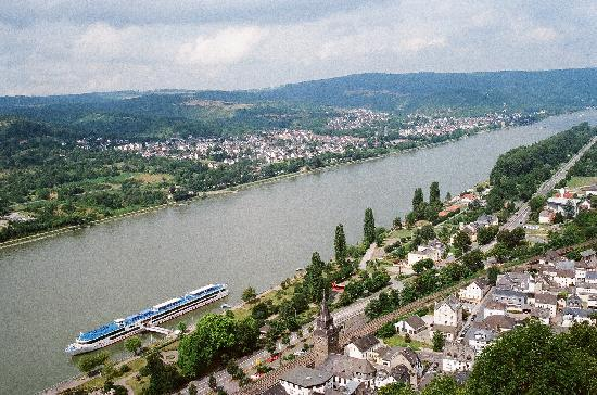 Rhine River: Viking Helvetia from MArksburg Castle