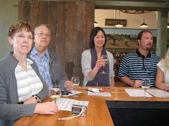 Larson Family Winery : Wine Tasting
