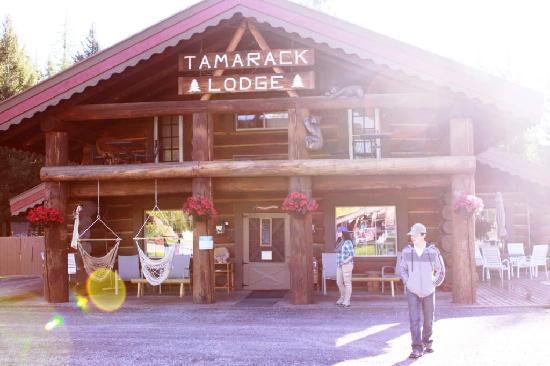 Historic Tamarack Lodge: Great Lodge