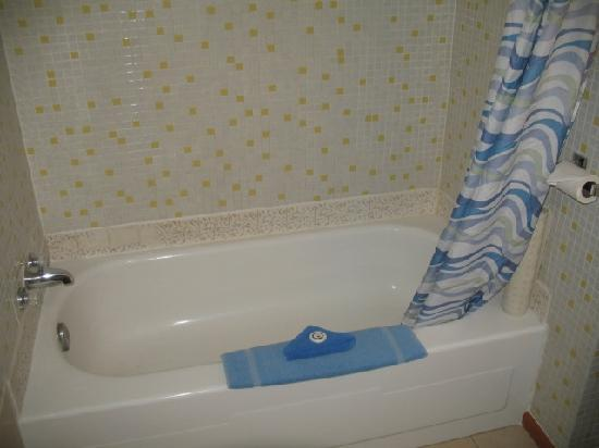 Our relaxing tub or shower. - Picture of Evergreen Motel, Princeton ...