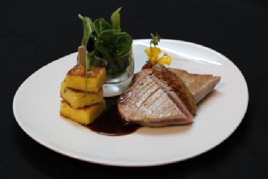 Restaurant La Suite : Thon mi-cuit au foie gras