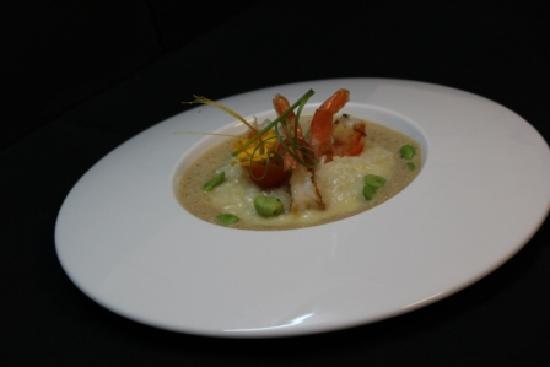 Restaurant La Suite : Risotto à la bisque