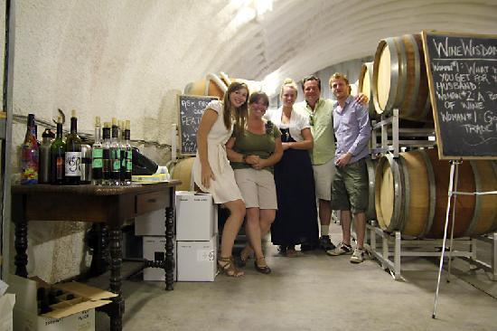 Wine Your Way Tours : Fun with the Owner and Wine Shop Manager at Rollingdale