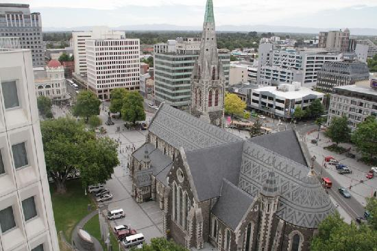 Heritage Christchurch: View from our balcony