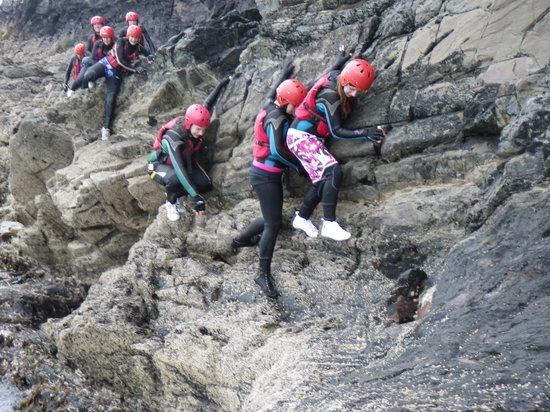 Celtic Quest Coasteering: Get a grip!!