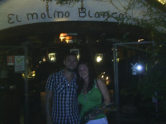 Sunset Harbour Club by Diamond Resorts: my husband and i at El Molino Blanco