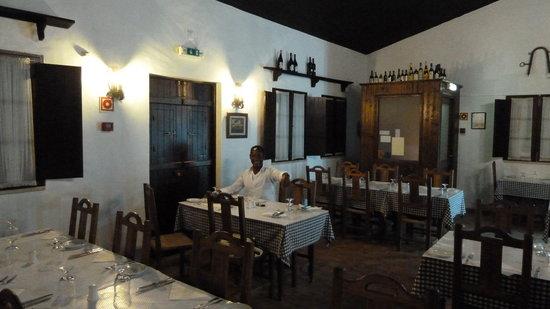 Restaurante O Lavrador : toen wij er waren, was het niet erg druk in het restaurant