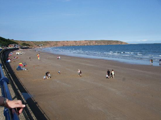 All Seasons Guest House Filey, B&B: A view of the beach at Filey