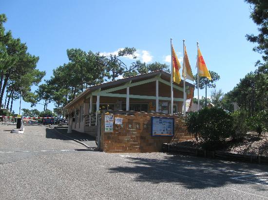 Lacanau-Océan, Francia: Entrance to the site