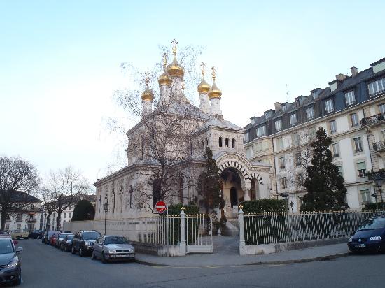Appart'City Geneve Gaillard: Russian church