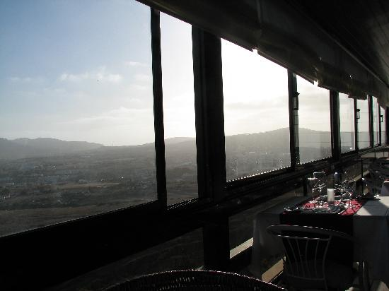 Panorama Restaurant: A table with a view at the Panorama