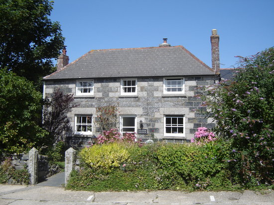 Colvennor Farmhouse Front Aspect