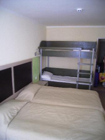 Hotel Gergana : The room