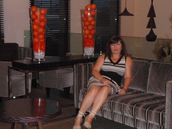 Blu Hotel Brixia: in the hotel's lobby