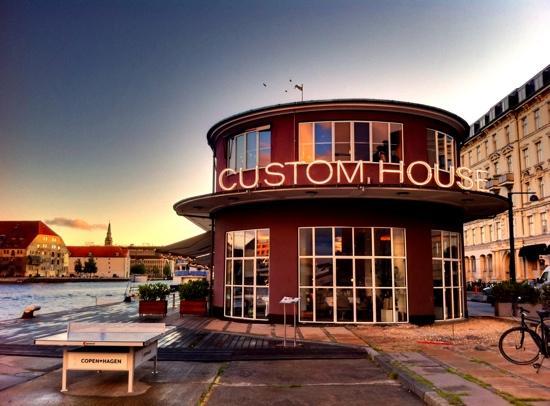 Custom House : udenfor