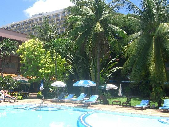 Basaya Beach Hotel & Resort: ヤシの木が見事です。