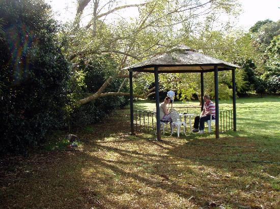 Peppertree Cottage: Gazebo in the gardens