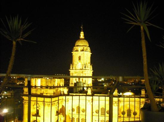 แอค โฮเต็ล มาลากา ปาลาซิโอ บาย แมริออท: cathedral at night