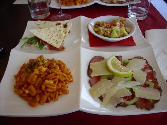 Brisighella, Italien: il piatto unico