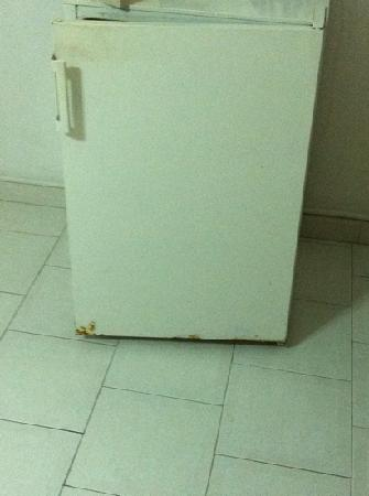 Nikos Studios: rusty fridge