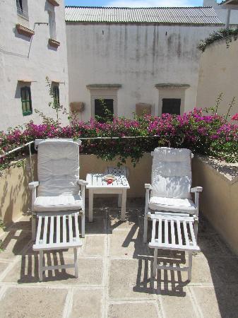 Relais Corte Palmieri: more loungers