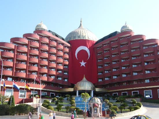Delphin Palace Hotel: Hotel on Turkey day