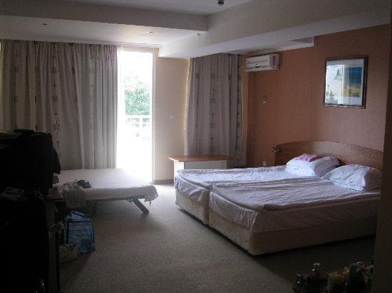 DIT Evrika Beach Club Hotel: our room