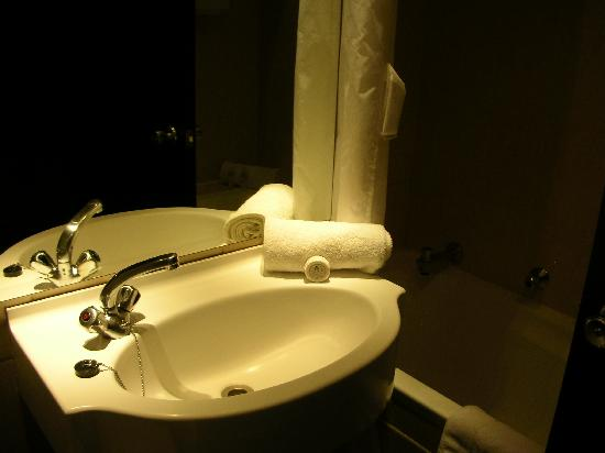 Manhattan Hotel: 洗面所