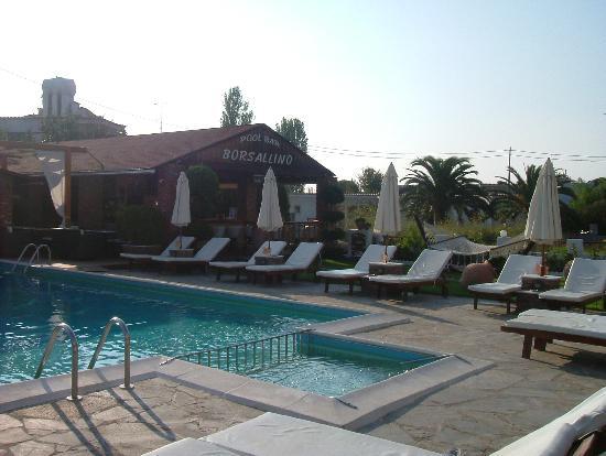 Yialis Apartments: pool & bar