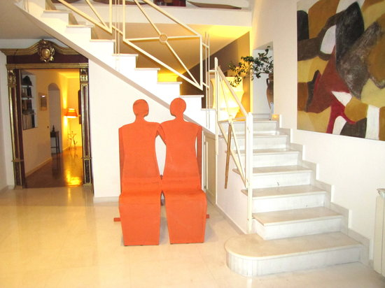 B&B Faro: entrance