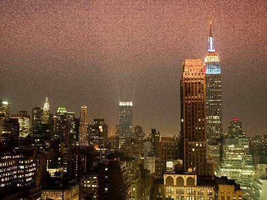 โรงแรมเดอะนิวยอร์คเกอร์: From balcony on 38th floor