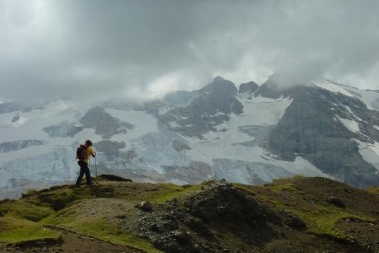 Hotel Tyrolia: Il ghiacciaio della Marmolada 30.08.2011
